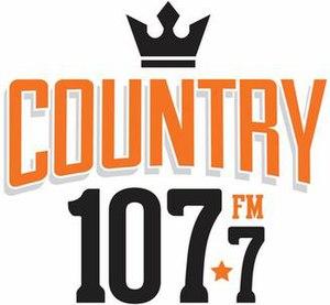 CJXR-FM - Image: CJXR COUNTRY107.7FM logo
