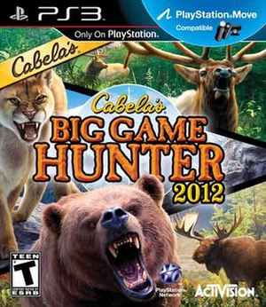 Cabela's Big Game Hunter 2012 - PlayStation 3 cover art