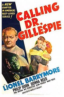 <i>Calling Dr. Gillespie</i> 1942 film by Harold S. Bucquet