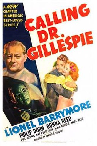 Calling Dr. Gillespie - Theatrical Film Poster