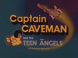 Captain Caveman and the Teen Angels - Image: Captain caveman titles