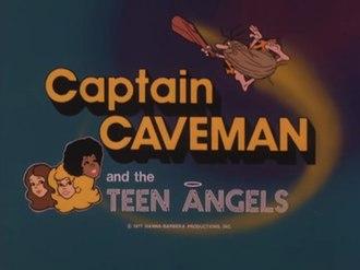 Captain Caveman and the Teen Angels - Image: Captain caveman titles