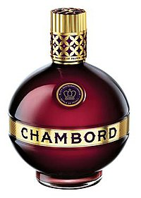 Chambord Liqueur bottle