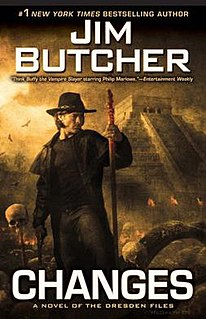 <i>Changes (The Dresden Files)</i> 12th book in The Dresden Files
