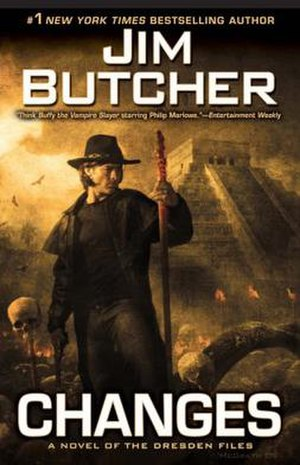 Changes (The Dresden Files) - Image: Changes Hardcover 106 300