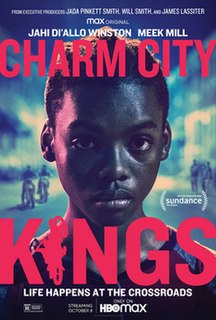 <i>Charm City Kings</i> 2020 film directed by Angel Manuel Soto