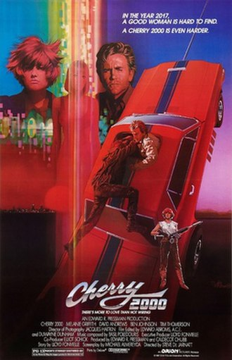 Cherry 2000 - Theatrical poster