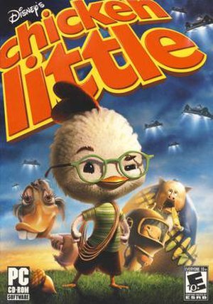 Chicken Little (video game) - Image: Chicken Little 2005 Game Cover