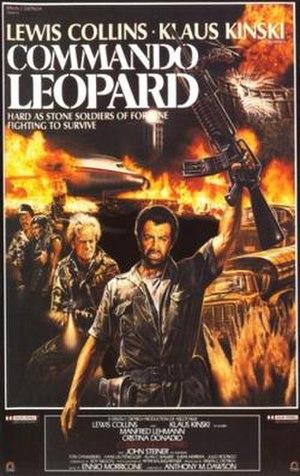 Commando Leopard - Film poster
