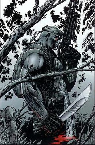 Deathblow (comics) - Deathblow, art by Jim Lee