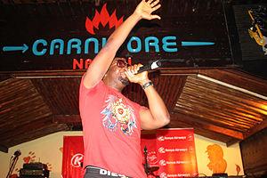 Darey - Darey performing at the Carnivore in Nairobi, Kenya
