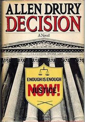 Decision (novel) - US first edition