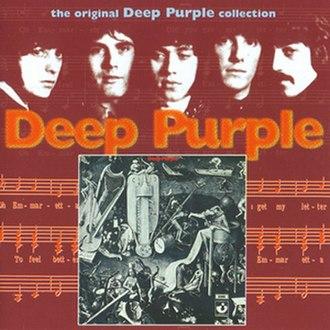 Deep Purple (Deep Purple album) - Image: Deep Purple DP reissue