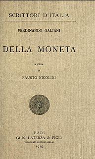 <i>Della Moneta</i>