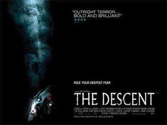 The Descent - Theatrical release poster