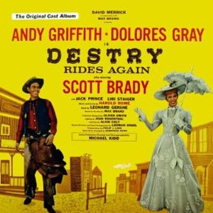 Destry Rides Again (musical) - 1959 Original Cast Recording