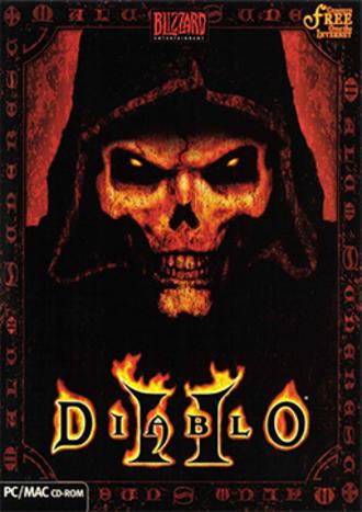 Diablo II - Diablo II cover art