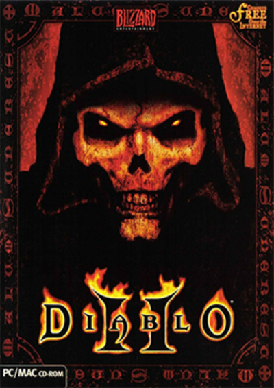 Picture of a game: Diablo II