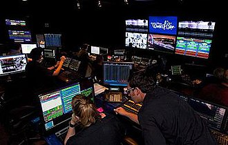 World of Color - The show's hidden control room backstage