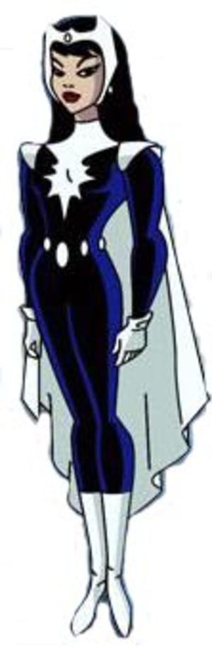 Doctor Light (Kimiyo Hoshi) - Doctor Light, as she appears in the animated series Justice League Unlimited.