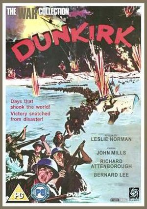 Dunkirk (1958 film) - Image: Dunkirk Video Cover