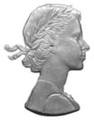 Effigy - Image: Effigy of Elizabeth II (by Mary Gillick)