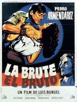 El Bruto - Theatrical release poster
