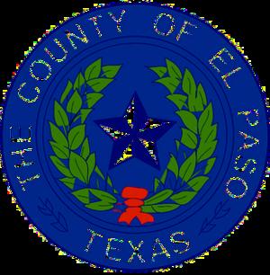 El Paso County, Texas - Image: El Paso County tx seal