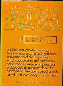 Encyclopaedia of Chess Openings - Wikipedia