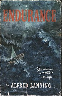 Book about Ernest Shackleton