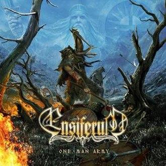 One Man Army (Ensiferum album) - Image: Ensiferum One Man Army