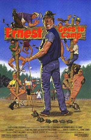 Ernest Goes to Camp - Theatrical release poster