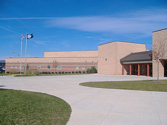 Battlefield High School - Battlefield High School, exterior.
