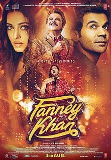 <i>Fanney Khan</i> 2018 Indian Hindi musical comedy film