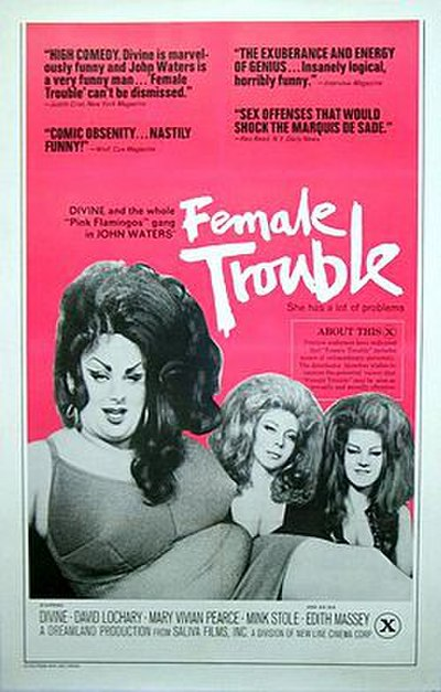 Picture of a movie: Female Trouble