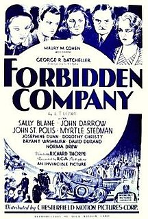 <i>Forbidden Company</i> 1932 film