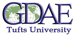 GDAE (Global Development And Environment Institute) at Tufts University Logo.jpg