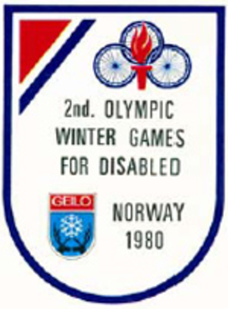 1980 Winter Paralympics - Image: Geilo 1980 Paralympics logo