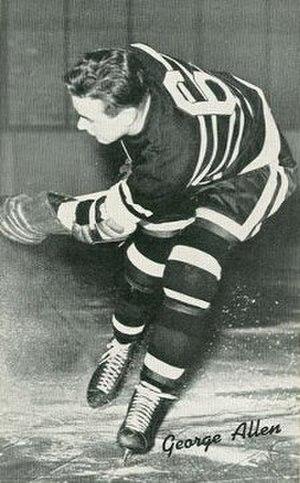 George Allen (ice hockey) - Image: George Allen Hawks