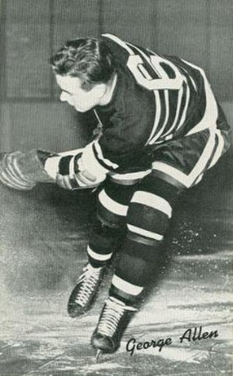 George Allen (ice hockey) - Image: George Allen Hawks