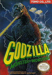<i>Godzilla: Monster of Monsters</i> 1988 video game