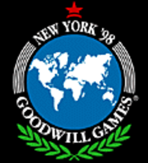 1998 Goodwill Games - Image: Goodwill Games 98logo