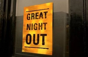 Great Night Out - Image: Great Night Out titlecard