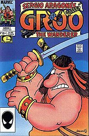 Groo the Wanderer cover page Issue #1