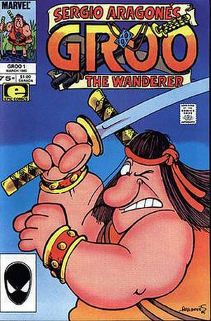 Sergio Aragonés - Image: Groo cover issue 1