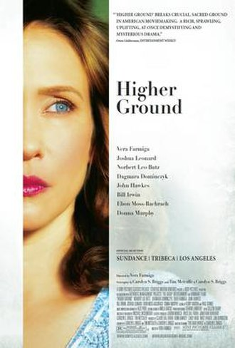 Higher Ground (film) - Theatrical release poster