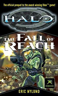 <i>Halo: The Fall of Reach</i> novel in the Halo series