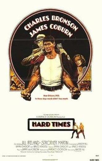 Hard Times (1975 film) - Original theatrical poster
