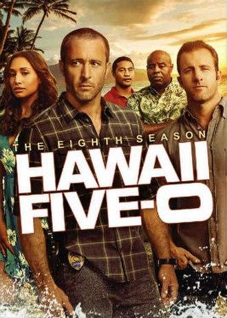 Hawaii Five-0 (2010 TV series, season 8) - Season 8 U.S. DVD cover