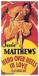 <i>Head over Heels</i> (1937 film) 1937 British musical film directed by Sonnie Hale